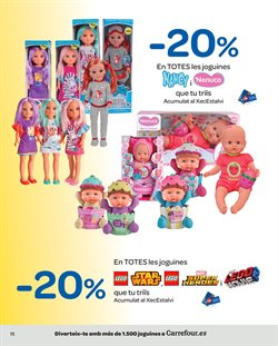 Ofertas de LEGO  en el folleto de Carrefour en Molins de Rei