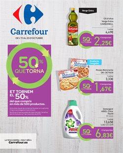 Ofertas de Hiper-Supermercados  en el folleto de Carrefour en Salt