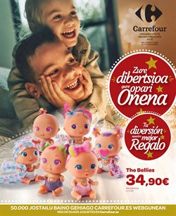 Ofertas de Juguetes y bebes  en el folleto de Carrefour en Basauri