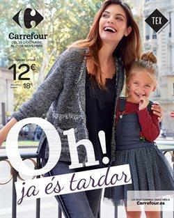 Ofertas de Ropa, zapatos y complementos  en el folleto de Carrefour en Sant Vicenç dels Horts