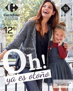 Ofertas de Ropa, zapatos y complementos  en el folleto de Carrefour en Ondara