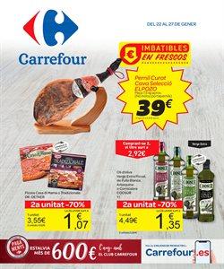 Ofertas de Hiper-Supermercados  en el folleto de Carrefour en Olot