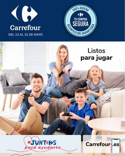 Ofertas de Juguetes y Bebés en el catálogo de Carrefour en El Puerto De Santa María ( 3 días más )