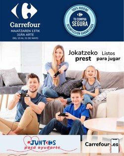 Ofertas de Hiper-Supermercados en el catálogo de Carrefour en Bilbao ( 5 días más )