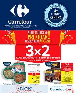 Ofertas de Hiper-Supermercados en el catálogo de Carrefour en Tolosa ( 12 días más )