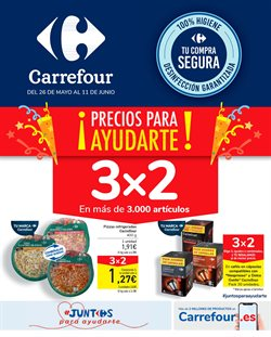 Ofertas de Hiper-Supermercados en el catálogo de Carrefour en Pamplona ( Publicado hoy )