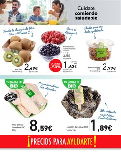 Ofertas de Kiwis en Carrefour