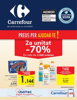 Ofertas de Hiper-Supermercados en el catálogo de Carrefour en Igualada ( 4 días más )