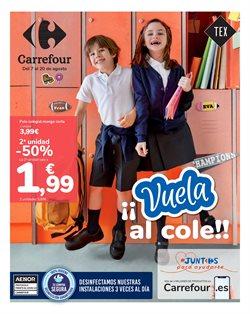 Ofertas de agenda escolar en el cat谩logo de Carrefour ( 11 d铆as m谩s)