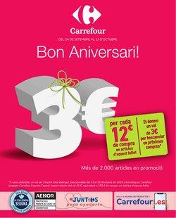 Catálogo Carrefour en Girona ( Publicado ayer )