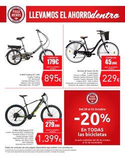 Ofertas de Bicicleta de paseo en Carrefour