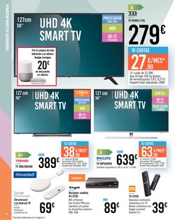 Ofertas de Android tv en Carrefour