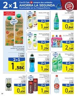 Ofertas de Coca en Carrefour
