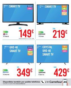 Ofertas de Smart tv led 55'' en Carrefour