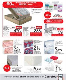 Ofertas de Funda de colchón en Carrefour