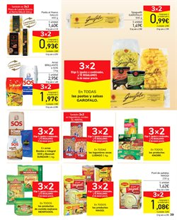 Ofertas de Fajitas en Carrefour