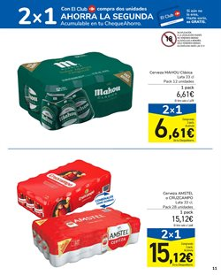 Ofertas de Mahou en Carrefour