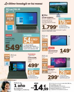 Ofertas de Lenovo en el catálogo de Carrefour ( 16 días más)