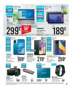 Ofertas de Samsung en el catálogo de Carrefour ( Caduca hoy)
