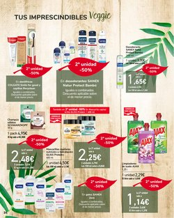 Ofertas de Sanex en el catálogo de Carrefour ( Caduca mañana)