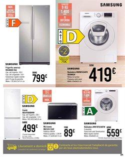 Ofertas de Samsung en el catálogo de Carrefour ( Publicado ayer)