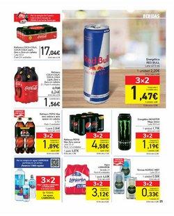 Ofertas de Red Bull en el catálogo de Carrefour ( 8 días más)