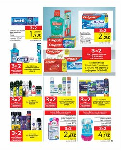 Ofertas de Rexona en el catálogo de Carrefour ( Publicado ayer)