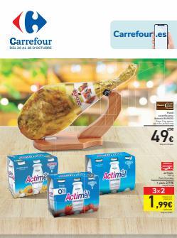 Ofertas de Hiper-Supermercados en el catálogo de Carrefour ( Publicado ayer)