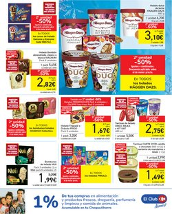 Ofertas de Häagen-Dazs en el catálogo de Carrefour ( Caduca hoy)
