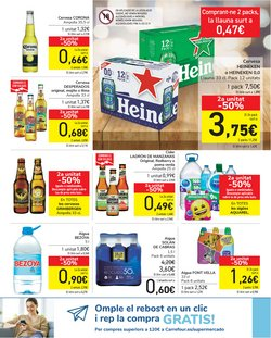 Ofertas de Font Vella en el catálogo de Carrefour ( Caduca mañana)