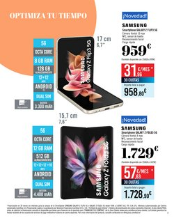 Ofertas de Samsung en el catálogo de Carrefour ( 2 días más)