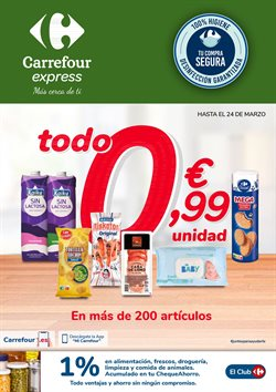 Catálogo Carrefour Express ( 23 días más)