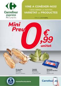 Catálogo Carrefour Express ( 9 días más)