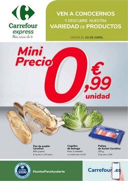 Catálogo Carrefour Express ( 12 días más)
