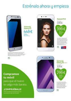 Ofertas de Smartphones Samsung  en el folleto de Movistar en Vecindario