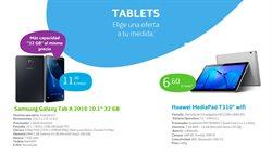 Ofertas de Huawei  en el folleto de Movistar en Vecindario