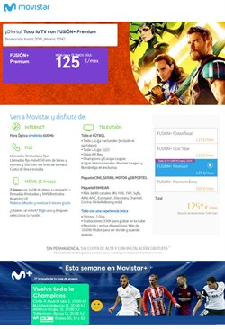 Ofertas de Movistar  en el folleto de Madrid