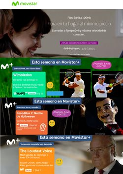 Ofertas de Movistar  en el folleto de Coslada
