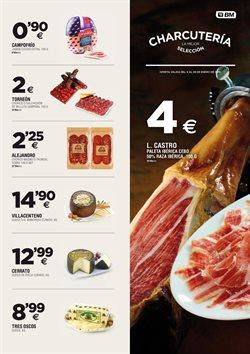 Ofertas de Paleta ibérica de cebo  en el folleto de BM Supermercados en Torrelavega