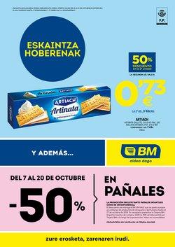Ofertas de BM Supermercados  en el folleto de Usurbil