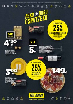 Ofertas de BM Supermercados  en el folleto de Vitoria