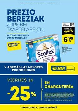 Catálogo BM Supermercados en Pamplona ( Caduca mañana )