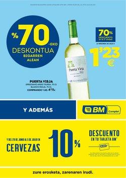 Catálogo BM Supermercados en Pamplona ( 3 días publicado )