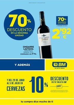 Catálogo BM Supermercados en Leganés ( 8 días más )