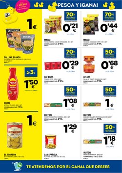 Ofertas de Fideos orientales en BM Supermercados