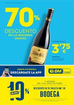 Ofertas de Vinos de España en BM Supermercados
