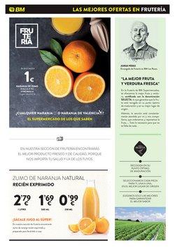 Ofertas de Zumo de frutas en BM Supermercados