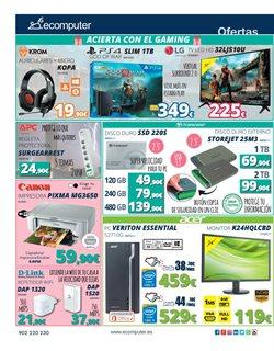 Ofertas de Canon  en el folleto de Ecomputer en León