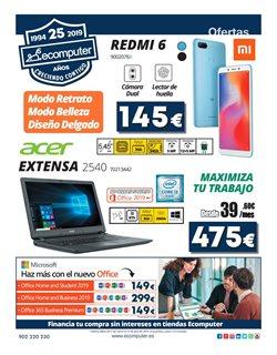 Ofertas de Ecomputer  en el folleto de Madrid