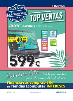 Ofertas de Ecomputer  en el folleto de Alcobendas